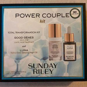 Sunday Riley -Good Genes- Power Couple Kit